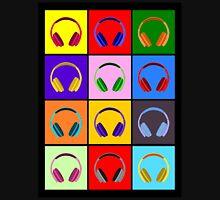 Pop Art Headphones Unisex T-Shirt