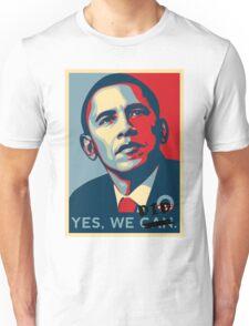 Obama. Yes we did. Unisex T-Shirt