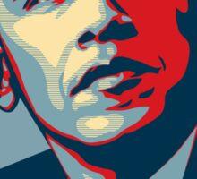 Obama. Yes we did. Sticker