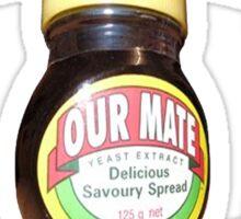 love marmite hait racism Sticker