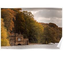 Newmillerdam Boathouse Poster
