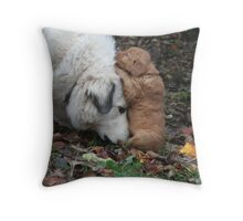 Budding Friendship Throw Pillow