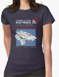 Mako Guide Womens Fitted T-Shirt