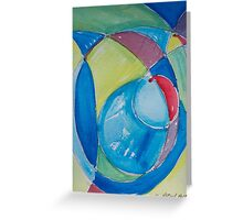 Primary Waves Greeting Card