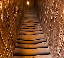 Edfu staircase by Sam Tabone