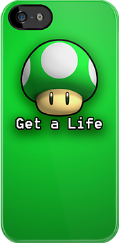 """Get a Life"" 1Up by Guilherme Bermêo"