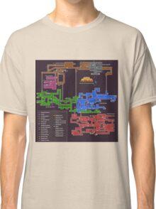 Super Metroid Map Classic T-Shirt