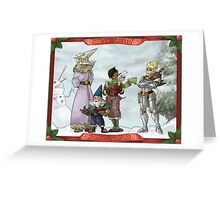 Solstice Carols! Greeting Card