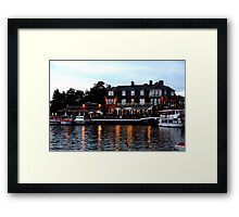 Wherry, Oulton Broad, Suffolk Framed Print