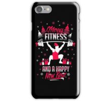Merry Fitness !! iPhone Case/Skin