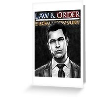 Nick Amaro from Law and Order svu Greeting Card