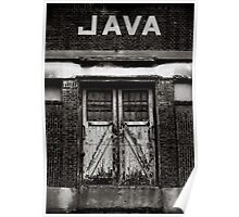 Warehouses Rijnhaven Java Close Poster