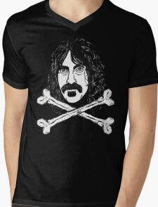Frank and Crossbones Mens V-Neck T-Shirt