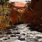 Dochart Falls by Rachel Slater