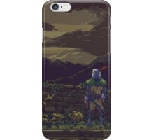 Pixel Solaire in Altar of Sunlight Print iPhone Case/Skin