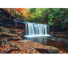 Oneida Falls angled view Photographic Print