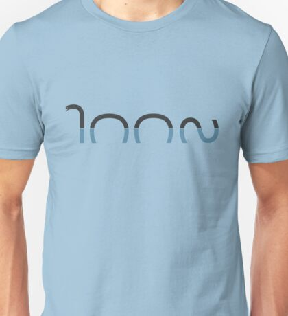 Loch Ness Typo Unisex T-Shirt