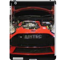 Red AIRTEC iPad Case/Skin