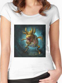 Evil Togepi Pokemon Women's Fitted Scoop T-Shirt