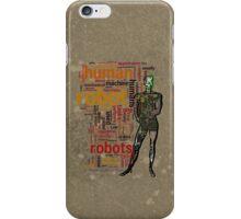 HUMAN ROBOT iPhone Case/Skin