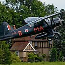 Lysander IIIA V9367 G-AZWT by Colin Smedley