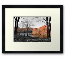 The Grass Really IS Greener On The Other Side Framed Print
