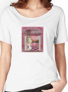 Macintosh Plus Vaporwave Gameboy Cartridge  Women's Relaxed Fit T-Shirt