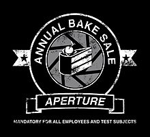 Aperture Bake Sale by mashedtaters