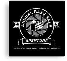 Aperture Bake Sale Canvas Print