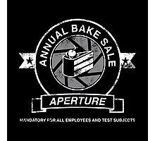 Aperture Bake Sale Photographic Print