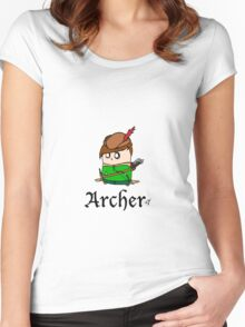 The Archer Women's Fitted Scoop T-Shirt