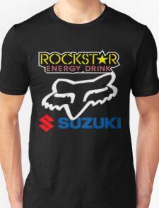 Rockstar Energy Suzuki Fox Racing Team T-Shirt