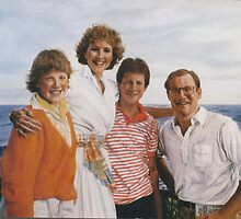 Hargis family in Hawaii by jamescassel
