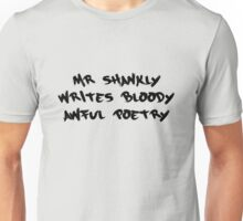 Shankly Graffiti Unisex T-Shirt