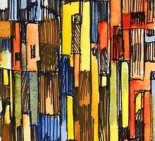 Cityframe 1 by M. H.  Draper