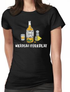 Funny Mexican Womens Fitted T-Shirt