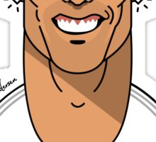 The smile of CR7 Sticker