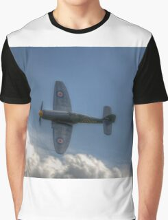 Hawker Sea Fury Pass Graphic T-Shirt