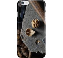 cracked walnut and hammer iPhone Case/Skin