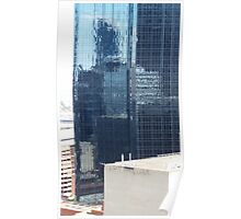 REFLECTIONS OF MELBOURNE ARCHITECTURE Poster