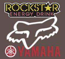 Rockstar Energy Yamaha Fox Racing Baby Tee
