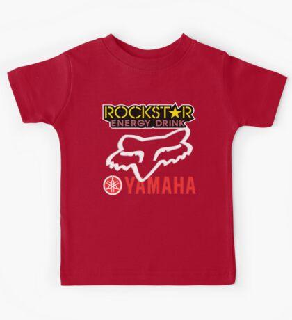 Rockstar Energy Yamaha Fox Racing Kids Tee