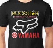 Rockstar Energy Yamaha Fox Racing Unisex T-Shirt