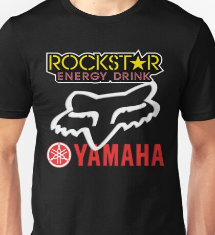 Rockstar Energy Yamaha Fox Racing Unisex T-Shirt