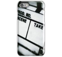 film slate iPhone Case/Skin