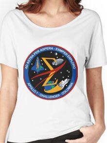 Spaceflight Memorial Patch Women's Relaxed Fit T-Shirt