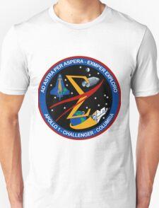 Spaceflight Memorial Patch T-Shirt