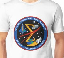 Spaceflight Memorial Patch Unisex T-Shirt