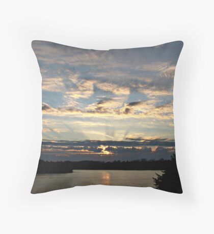 Streaming Twilight Throw Pillow