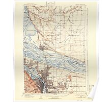 USGS Topo Map Washington State WA Portland 243244 1905 62500 Poster